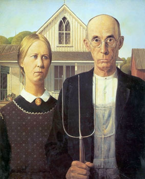 short poerty, wors move, american painting, history, grant wood, love