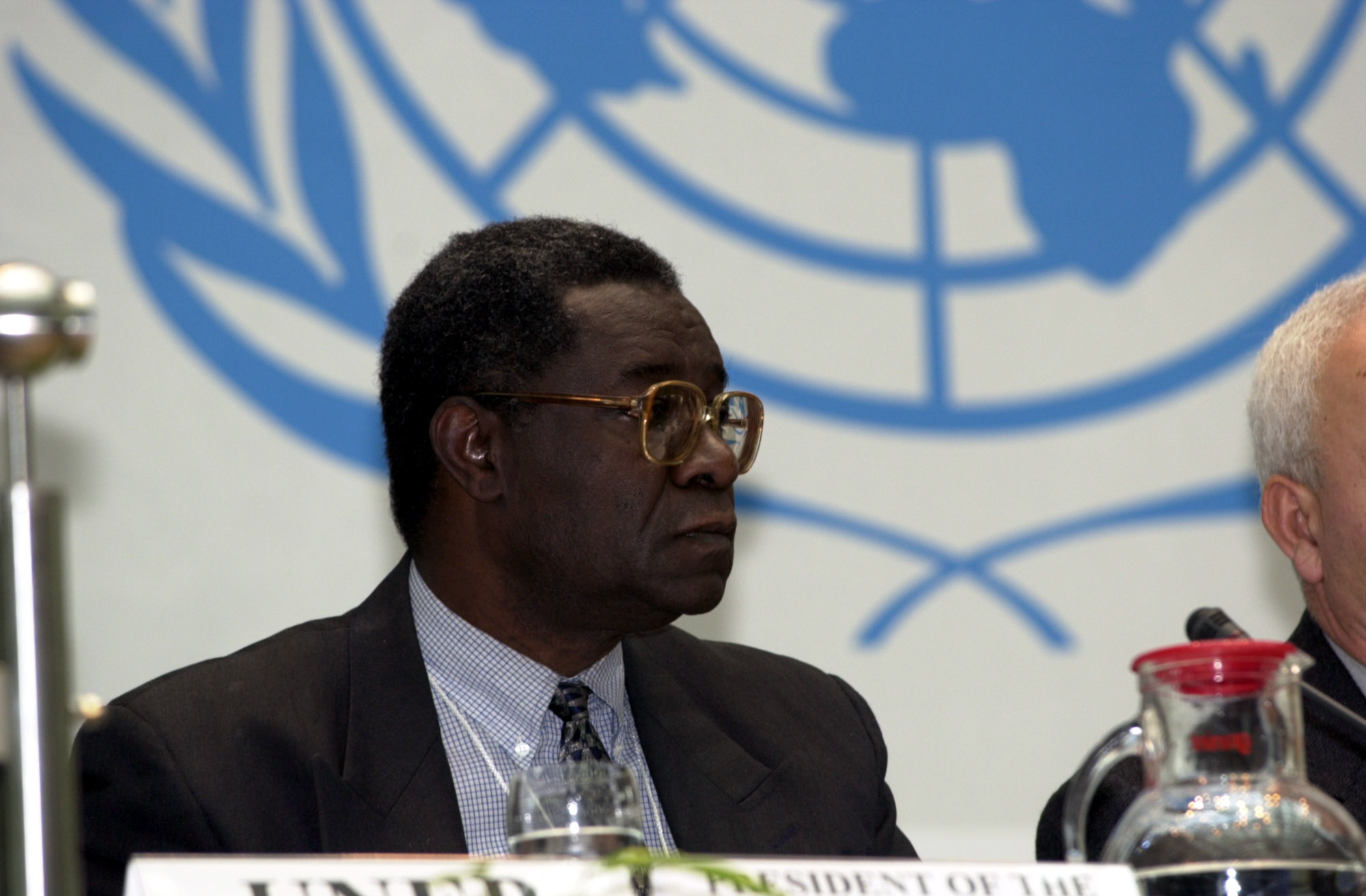 Prof. R. J. Olembo, UNEP